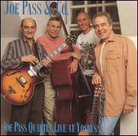 JOE PASS - Joe Pass Quartet Live at Yoshi's cover