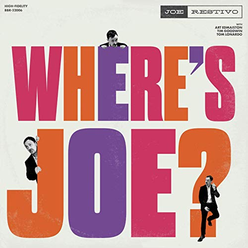 JOE RESTIVO - Wheres Joe? cover