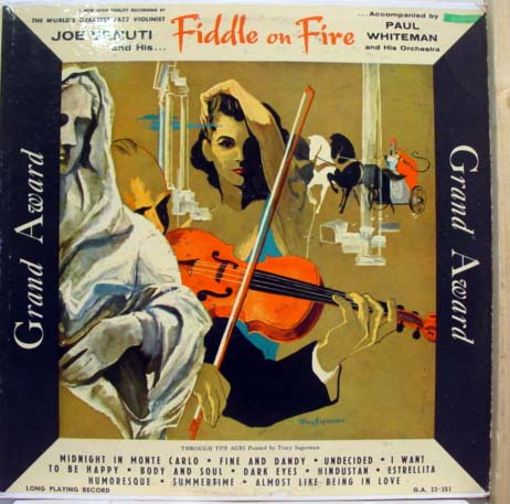 JOE VENUTI - Fiddle On Fire cover