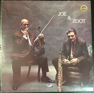JOE VENUTI - Joe & Zoot cover