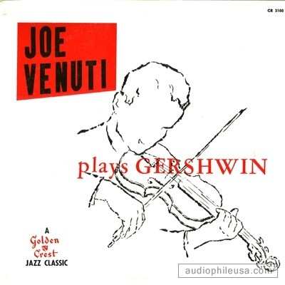 JOE VENUTI - Plays Gershwin cover