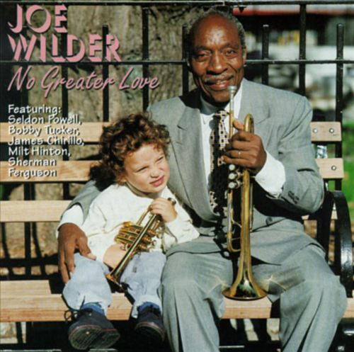 JOE WILDER - No Greater Love cover