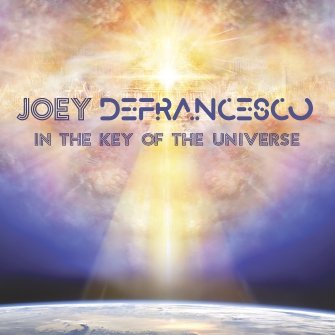 JOEY DEFRANCESCO - In The Key Of The Universe cover