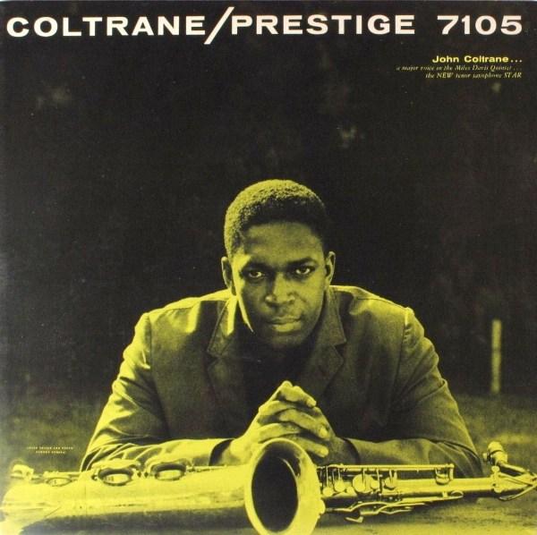 JOHN COLTRANE - Coltrane (aka First Trane) cover