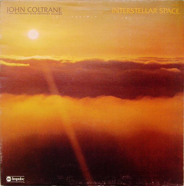 JOHN COLTRANE - Interstellar Space cover