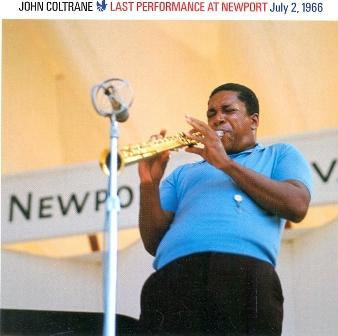 JOHN COLTRANE - Last Performance at Newport July 2 1966 cover