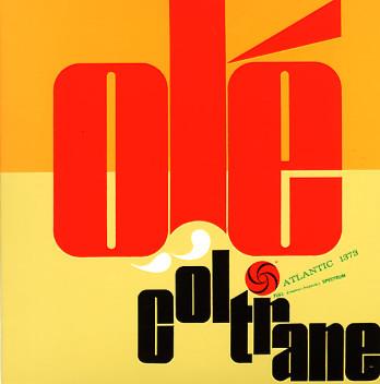 JOHN COLTRANE - Olé Coltrane cover