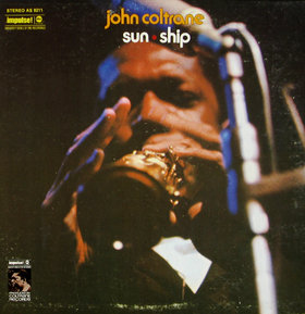 JOHN COLTRANE - Sun Ship cover