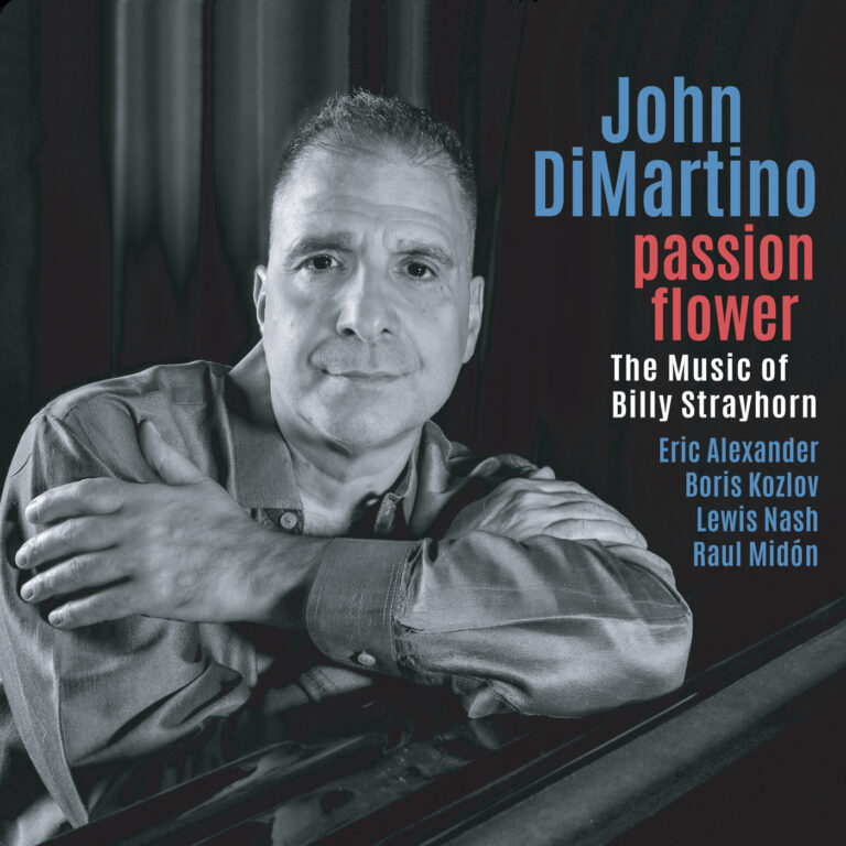 JOHN DI MARTINO - Passion Flower : The Music of Billy Strayhorn cover