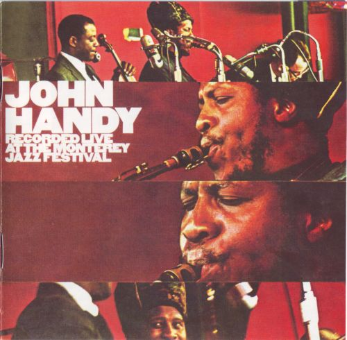 JOHN HANDY - Live at the Monterey Jazz Festival cover