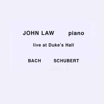 JOHN LAW (PIANO) - Live At Duke's Hall cover
