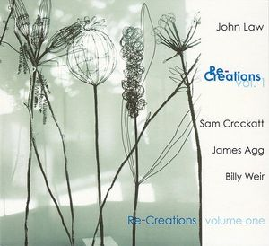 JOHN LAW (PIANO) - Re-Creations Volume 1 cover