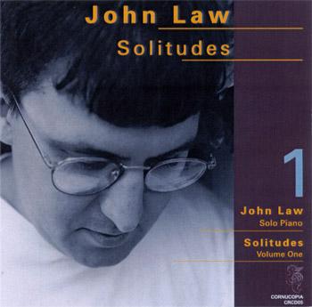 JOHN LAW (PIANO) - Solitudes Volume One cover
