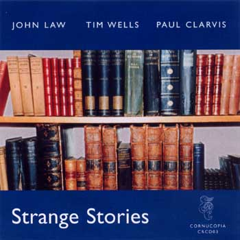 JOHN LAW (PIANO) - Strange Stories cover