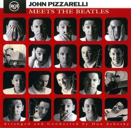 JOHN PIZZARELLI - Meets the Beatles cover