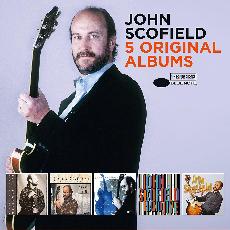JOHN SCOFIELD - 5 Original Albums cover