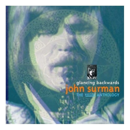 JOHN SURMAN - Glancing Backwards: The Dawn Anthology cover