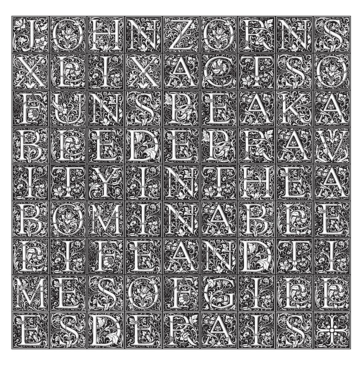 JOHN ZORN'S SIMULACRUM - 49 Acts Of Unspeakable Depravity In The Abominable Life And Times Of Gilles De Rais cover