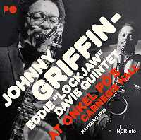 JOHNNY GRIFFIN - Onkel Pö's Carnegie Hall Hamburg 1975 cover