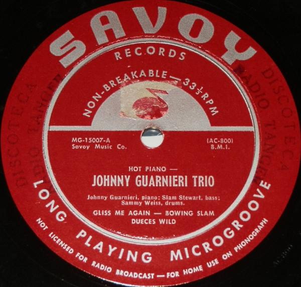 JOHNNY GUARNIERI - Hot Piano cover