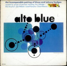 JOHNNY HODGES - Alto Blue cover