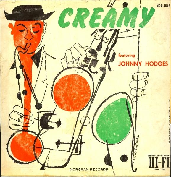 JOHNNY HODGES - Creamy cover