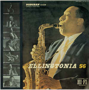 JOHNNY HODGES - Ellingtonia '56 cover