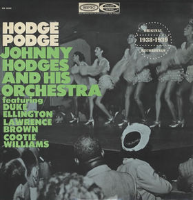 JOHNNY HODGES - Hodge Podge (1967) cover