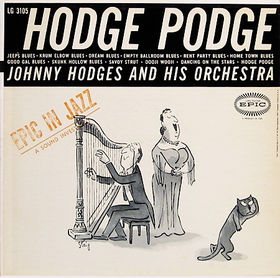 JOHNNY HODGES - Hodge Podge cover