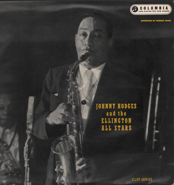 JOHNNY HODGES - Johnny Hodges And The Ellington All Stars (aka Duke's In Bed) cover