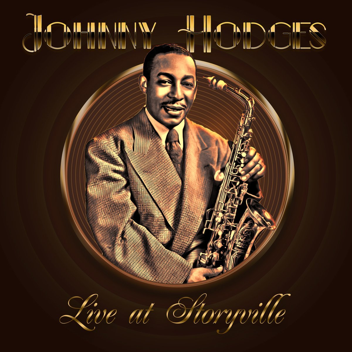 JOHNNY HODGES - Live At Storyville cover