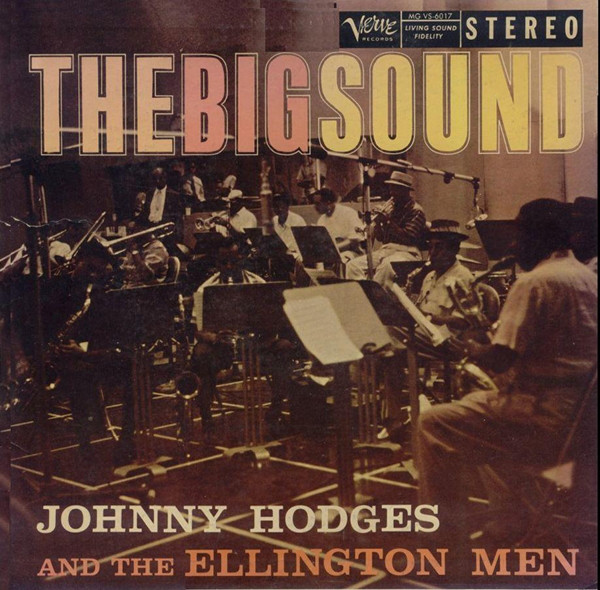 JOHNNY HODGES - The Big Sound cover