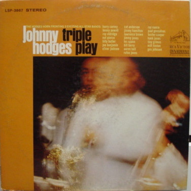 JOHNNY HODGES - Triple Play cover