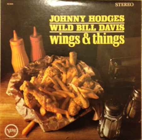 JOHNNY HODGES - Wings and Things cover