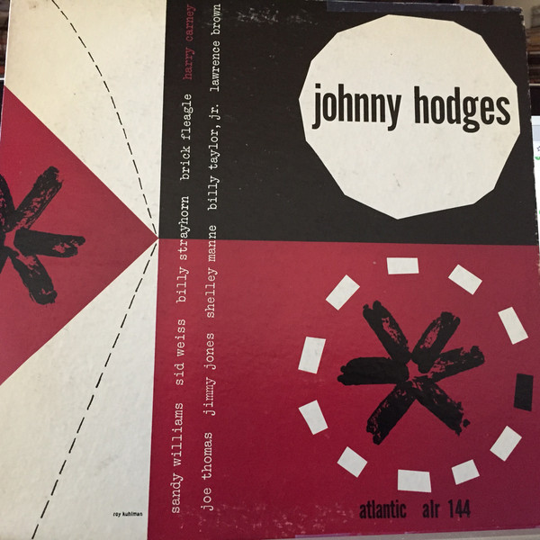 JOHNNY HODGES - With Harry Carney cover