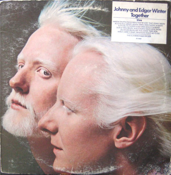 JOHNNY WINTER - Johnny  & Edgar Winter : Together cover