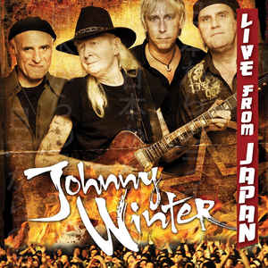 JOHNNY WINTER - Live From Japan cover