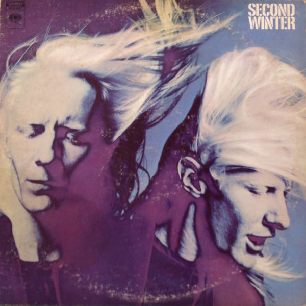 JOHNNY WINTER - Second Winter cover