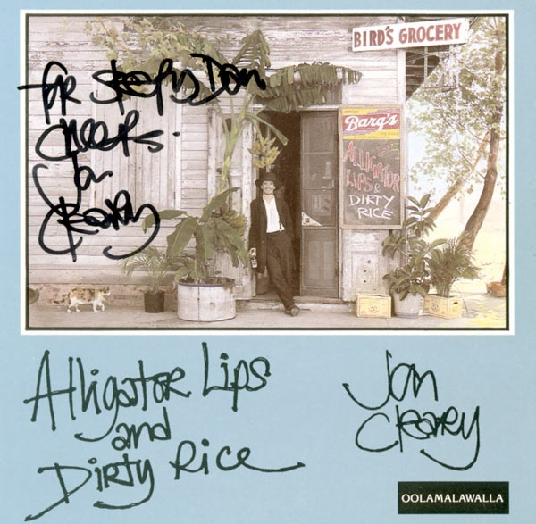 JON CLEARY - Alligator Lips And Dirty Rice cover