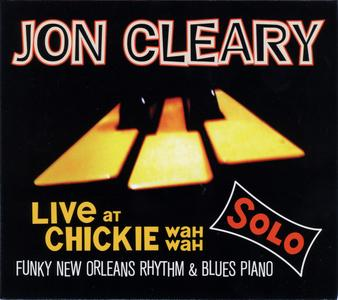JON CLEARY - Live At Chickie Wah Wah cover