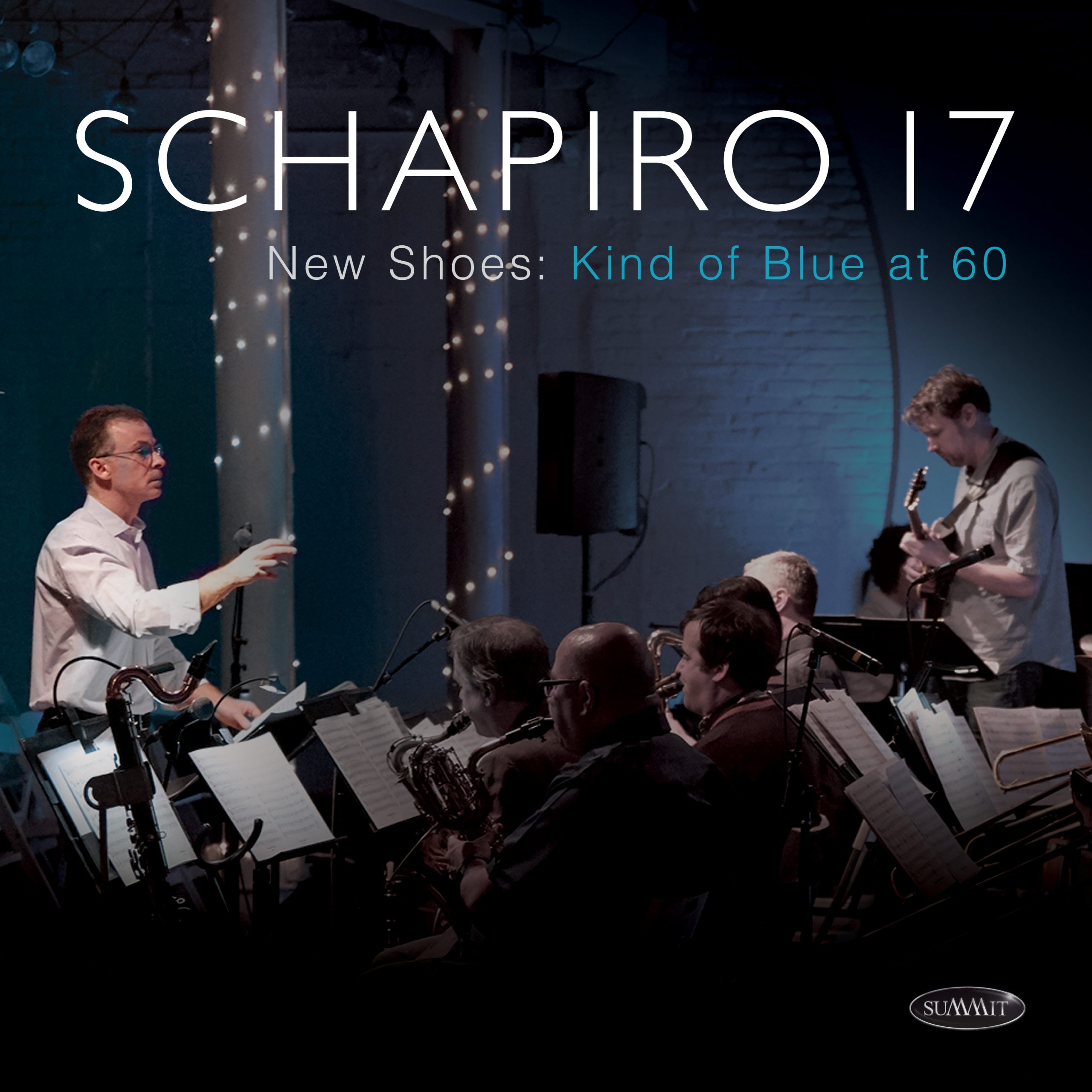JON SCHAPIRO - New Shoes: Kind of Blue at 60 – Schapiro 17 cover