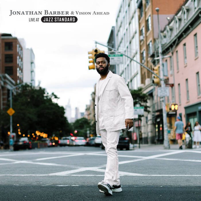 JONATHAN BARBER - Live at Jazz Standard cover