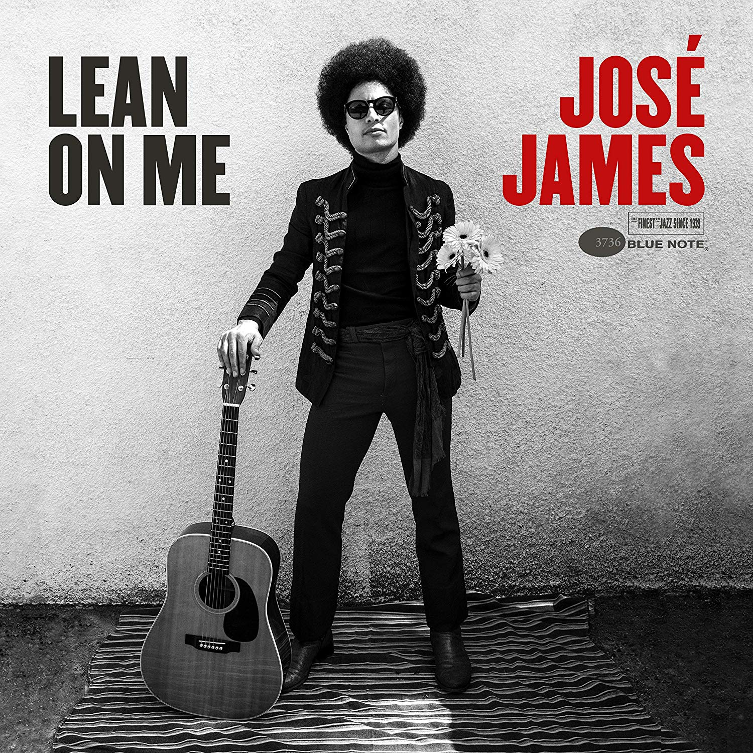 JOSÉ JAMES - Lean On Me cover