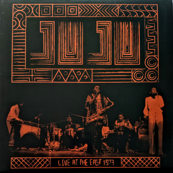 JUJU - Live At The East 1973 cover