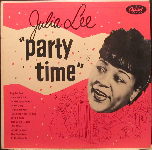 JULIA LEE - Party Time cover