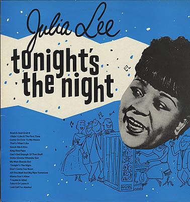 JULIA LEE - Tonight's The Night cover