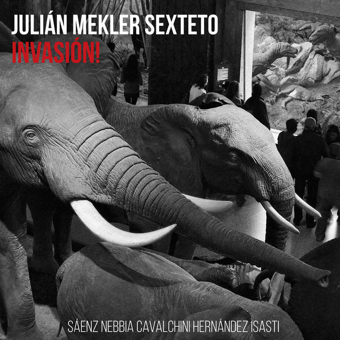 JULIÁN MEKLER - Invasión! cover