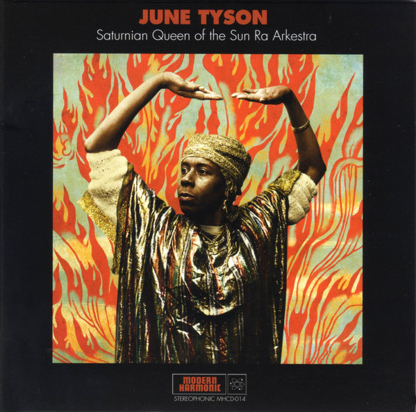 JUNE TYSON - Saturnian Queen Of The Sun Ra Arkestra cover