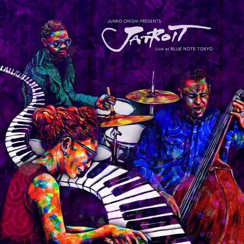 JUNKO ONISHI - Junko Onishi Presents Jatroit Live At Blue Note Tokyo cover