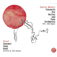 JUSTIN MORELL - Justin Morell Concerto for Guitar and Jazz Orchestra (feat. Adam Rogers) cover